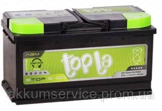 Аккумулятор автомобильный Topla Top AGM Stop & Go 105AH R+ 950A (L5 AGM ED)