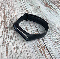 Ремешок для Xiaomi Mi Band 3 / 4 для фитнес браслета треккера на сяоми ми бенд 3 4 черный