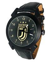 Часы мужские наручные кварцевые черные футбольный клуб Ювентус