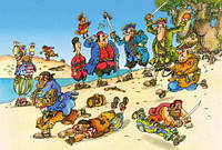Пазлы Остров сокровищ, 500 элементов 1281