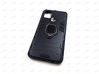 Противоударный чехол IronMan для Samsung Galaxy A21S (черный)