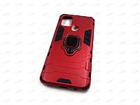 Противоударный чехол IronMan для Samsung Galaxy A21S (красный)