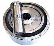 Опорний Каток автобетонозмішувача 250х160х110 мм в зборі (з віссю і підшипниками), фото 3