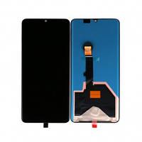 Дисплей Huawei P30 Pro VOG-L09, VOG-L29 с сенсором (тачскрином) черный Оригинал Китай