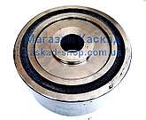 Опорний Каток автобетонозмішувача 250х160х110 мм в зборі (з віссю і підшипниками), фото 2