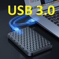 "SATA для HDD 2.5"" Внешний карман Orico 2520u3 USB 3.0  Original Чёрный"