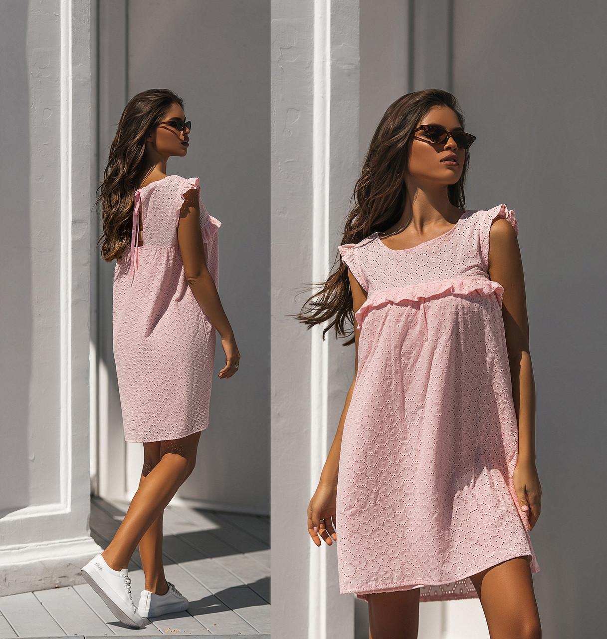 Прямое платье на лето