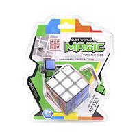 Головоломка кубик рубик с таймером 3х3х3 040