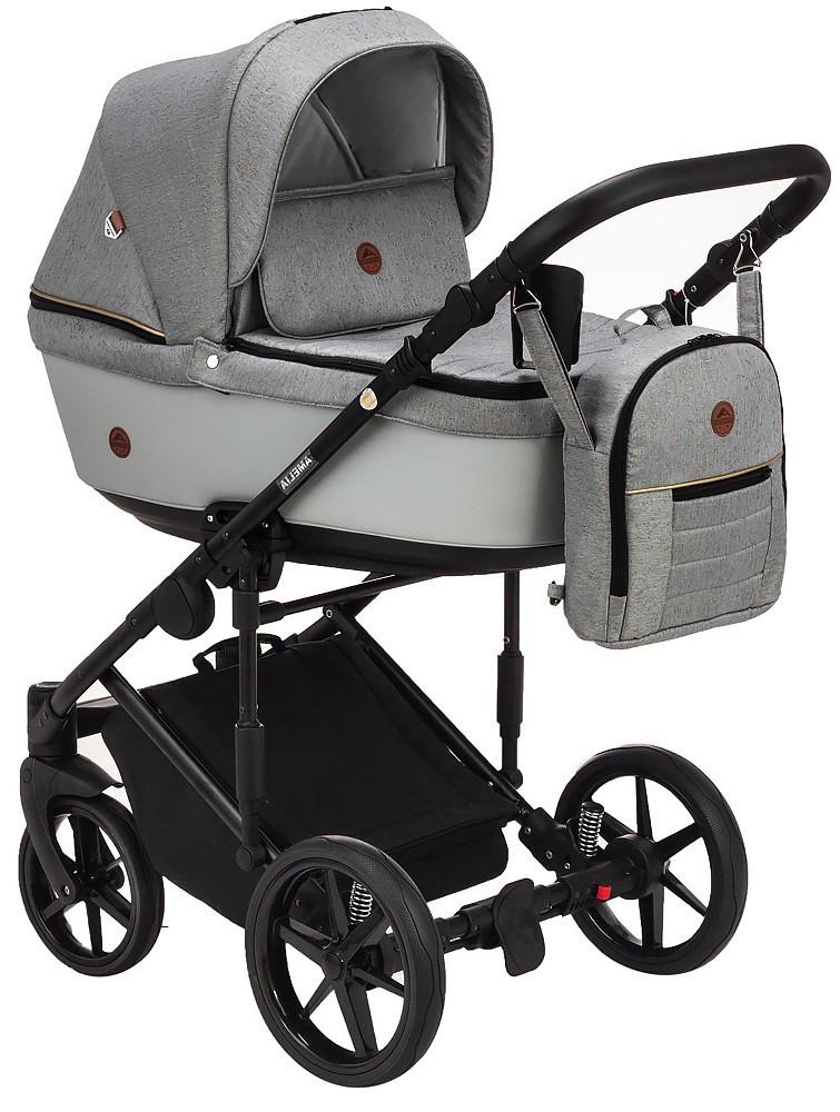 Детская универсальная коляска 2 в 1 Adamex Amelia Lux AM287