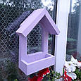 Годівниця для птахів з присосками на вікно Балкон, фото 7