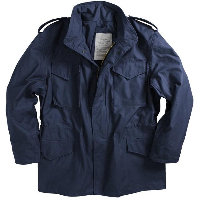 Мужская куртка Alpha Industries M-65 Field Coat navy