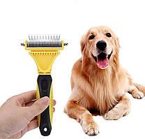 Щётка для расчёсывания шерсти PET-1 Professional Pet Dematting Comb