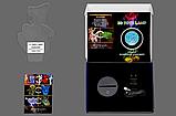 """Сменная пластина для 3D светильников """"Хрустальный череп"""" 3DTOYSLAMP, фото 4"""