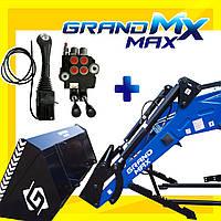 Погрузчик фронтальный (навантажувач фронтальний) Grand MAX MX  с ковшом 2 метра + джойстик
