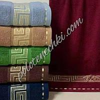 Махровое лицевое полотенце Узор версаче