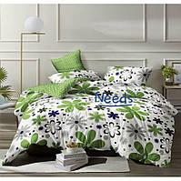 Комплект постельного белья Kris-Pol Ромашки Бязь №144183-2е на резинке двуспальный евро 200х220