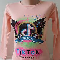 """Реглан """"Tiktok"""" для девочки 8-12 лет """"ZEYREK"""", фото 1"""
