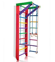Спортивный деревянный цветной уголок «Барби 2-220» ТМ Sportbaby для детей от 6 лет, фото 3