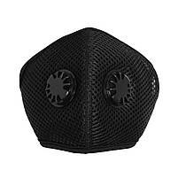 Чёрная защитная маска ZLight с клапаном+1 фильтр в ПОДАРОК, фото 8