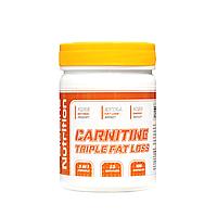 CARNITINE TRIPLE FAT LOSS (КАРНИТИН) ЖИРОСЖИГАТЕЛЬ 3-в-1 Формула 100 капсул полный курс на 1 месяц