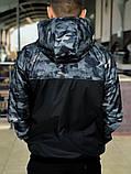 Комплект  Ветровка камуфляж Найк (Nike) + Штаны + Барсетка в подарок. Спортивный костюм, фото 3