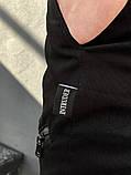 """Штаны Карго черные Intruder """"Fast Traveller"""", фото 4"""