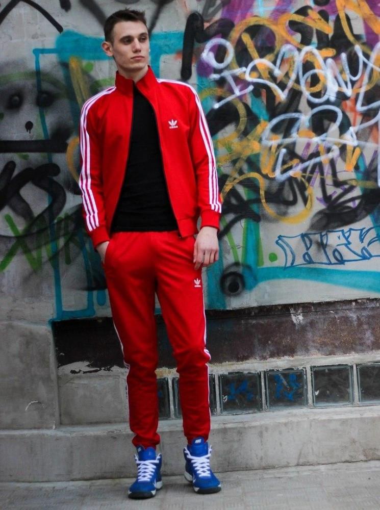 Костюм Adidas красный