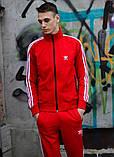 Костюм Adidas красный, фото 3