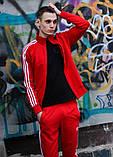 Костюм Adidas красный, фото 4