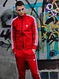 Костюм Adidas красный, фото 5