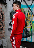 Костюм Adidas красный, фото 6