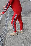 Спортивный костюм красный Kappa, фото 3
