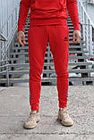 Спортивный костюм красный Kappa, фото 5