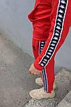 Спортивный костюм красный Kappa, фото 8