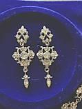 Елегантний набір сережки та кольє, фото 4