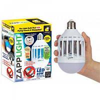 Светодиодная противомоскитная лампаZapp Light покрываемая площадь 60кв.м, ультрафиолет, 10Вт, Уничтожители насекомых