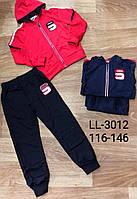 Трикотажный костюм 2 в 1 для мальчика оптом, Sincere, 116-146 см,  № LL-3012