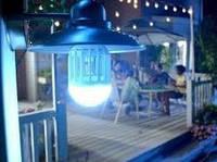 Противомоскитная LED лампа от насекомыхZapp Light покрываемая площадь 60кв.м, ультрафиолет, 10Вт, Уничтожители насекомы