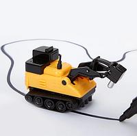 Автомобіль для гоночного треку Inductive Truck Бур пластик, від батарейок LR44, дитячі іграшки, дитячі машинки