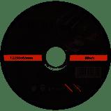 Диск отрезной по металлу Ø125x1.2x22.2мм, 12250об/мин