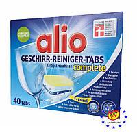 Таблетки для посудомоечных машин Alio, 40 шт