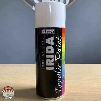 Краска акриловая HB BODY IRIDA, 400 мл Аэрозоль Белый глянец