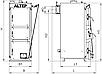 ALtep Duo Uni 33 кВт (Альтеп) котел твердотопливный длительного горения до 48 ч. толщина стали 6 мм, фото 6