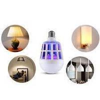 Светодиодная противомоскитная лампочкаZapp Light покрываемая площадь 60кв.м, ультрафиолет, 10Вт, Уничтожители насекомых