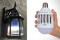 LED лампочка противомоскитнаяZapp Light покрываемая площадь 60кв.м, ультрафиолет, 10Вт, Уничтожители насекомых