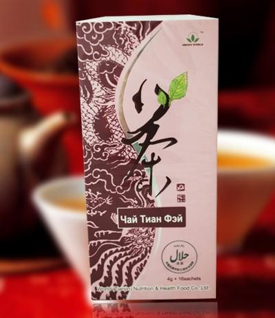 Чай Тиан Фэй, Green World — для нормализации веса (похудение)