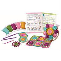 Детский Набор для творчества 4M Вязание крючком, игрушки для девочек