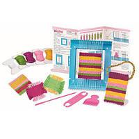 Детский Набор для творчества 4M Ткацкий станок, игрушки для девочек