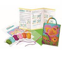 Детский Набор для творчества 4M Вышивание крестиком, игрушки для девочек