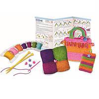 Детский Набор для творчества 4M Простое вязание, игрушки для девочек
